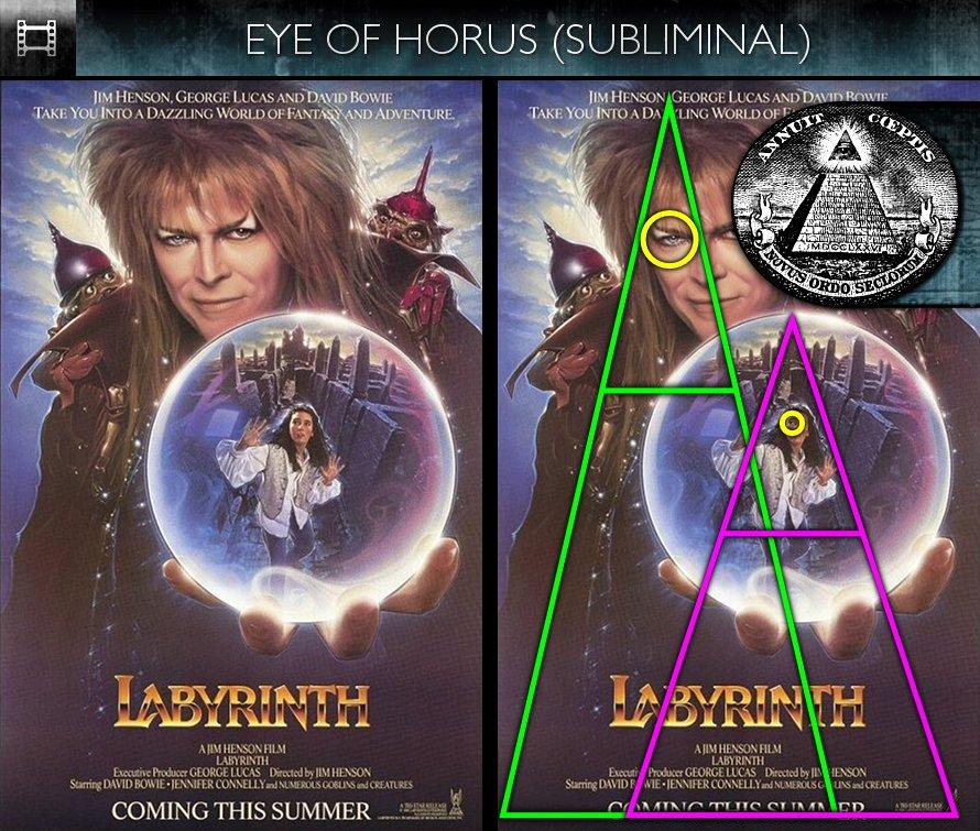 Poster Subliminals | Hollywood Subliminals Labyrinth 1986 Poster