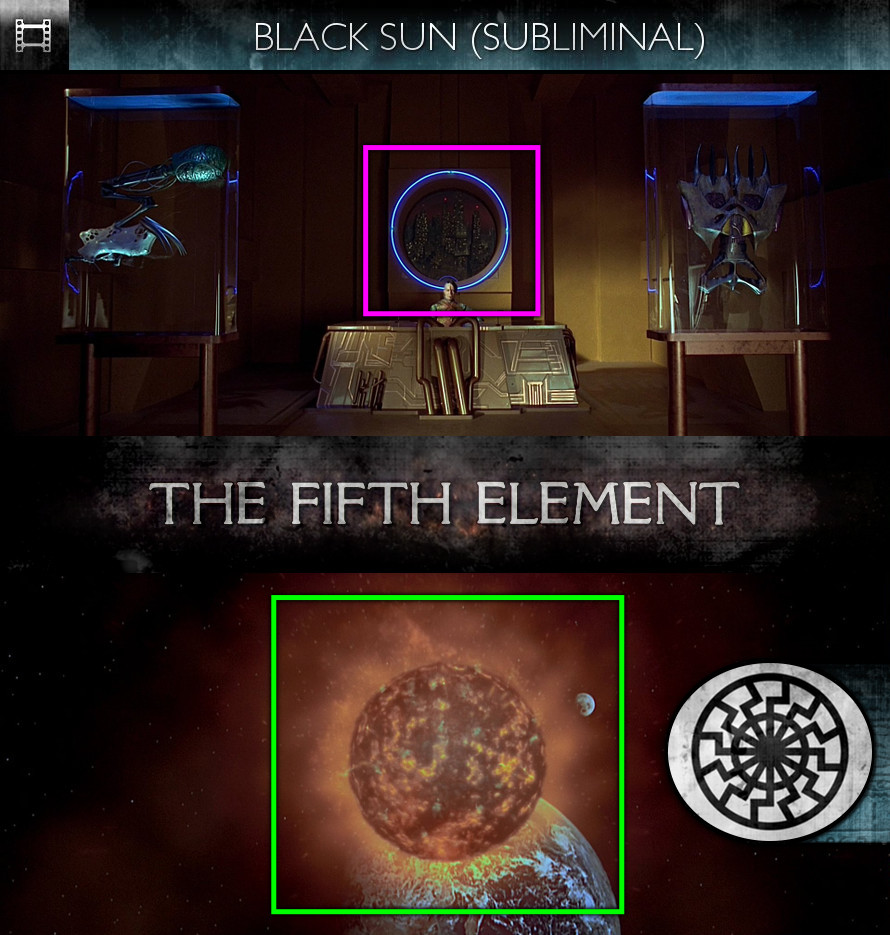 The Fifth Element (1997) - Black Sun - Subliminal