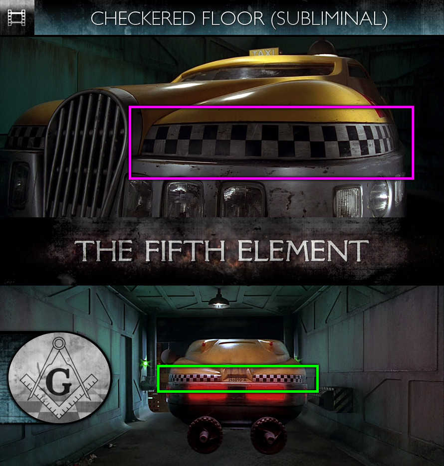 The Fifth Element (1997) - Checkered Floor - Subliminal