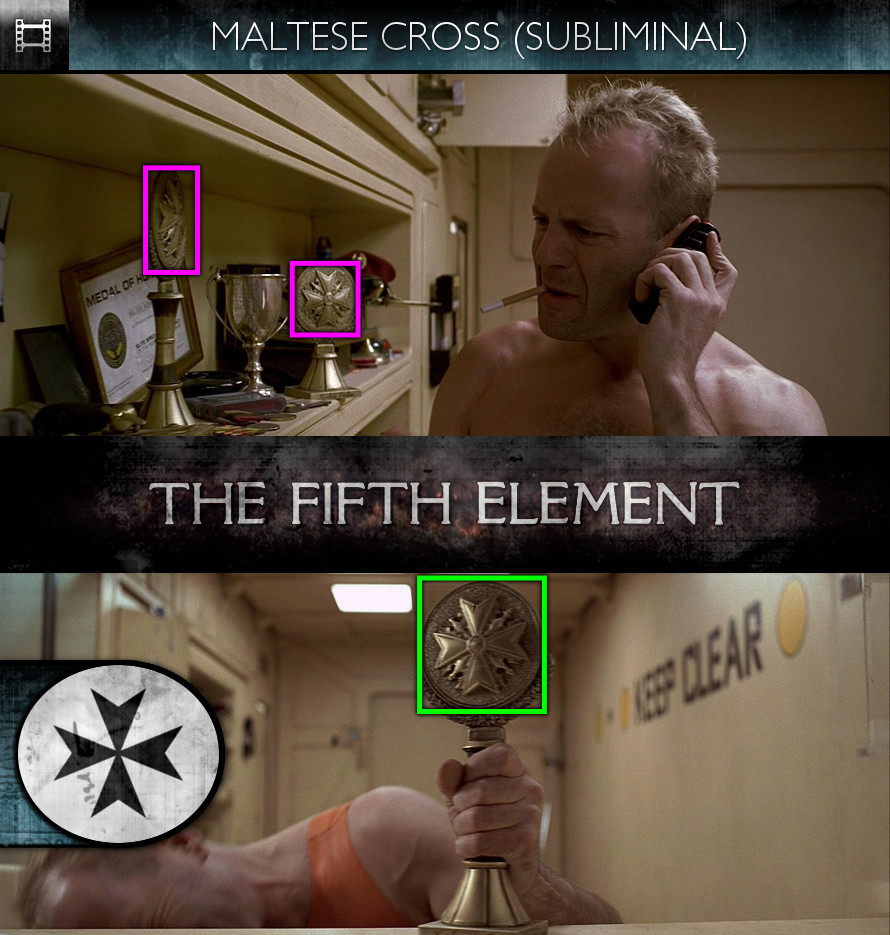 The Fifth Element (1997) - Maltese Cross - Subliminal
