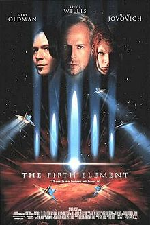The Fifth Element (1997) - Poster