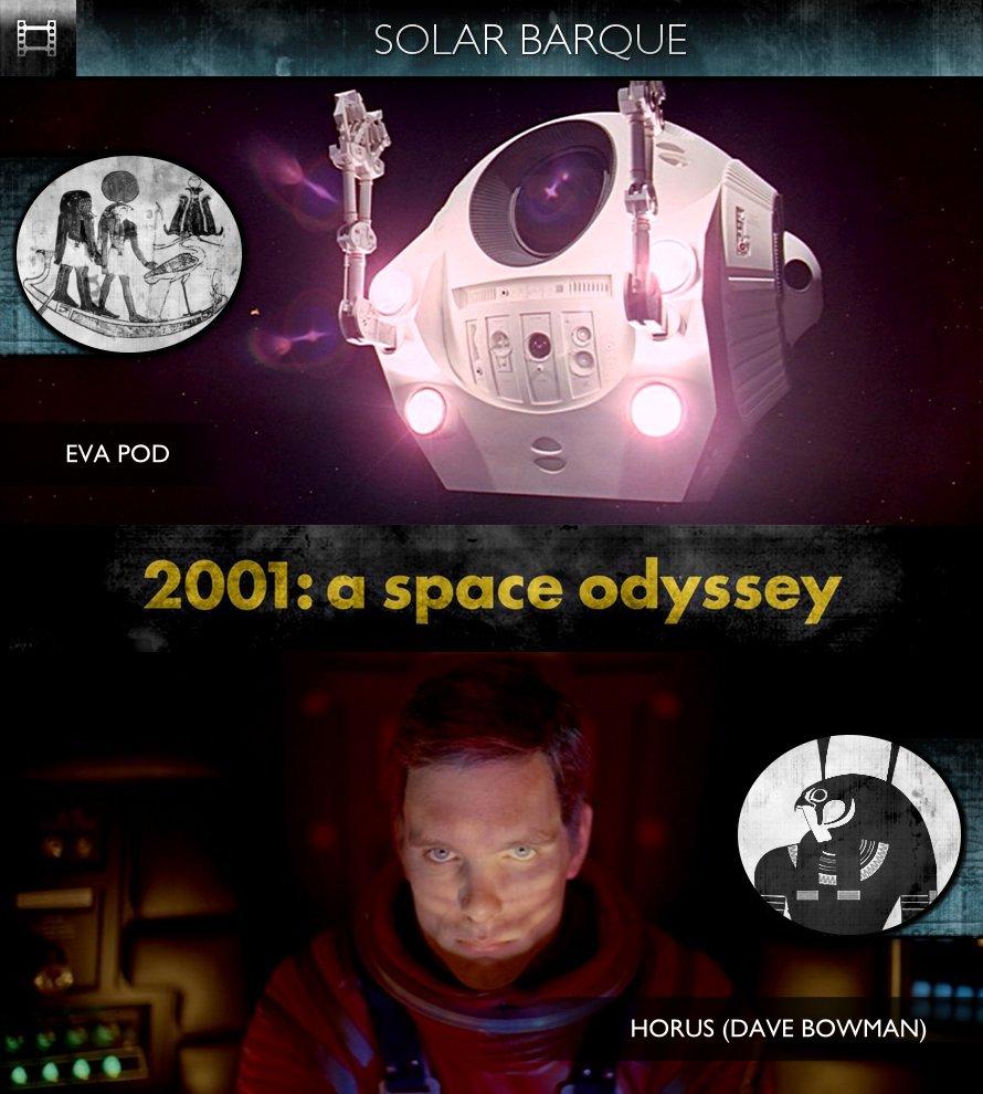 2001: A Space Odyssey (1968) - Solar Barque - EVA Pod
