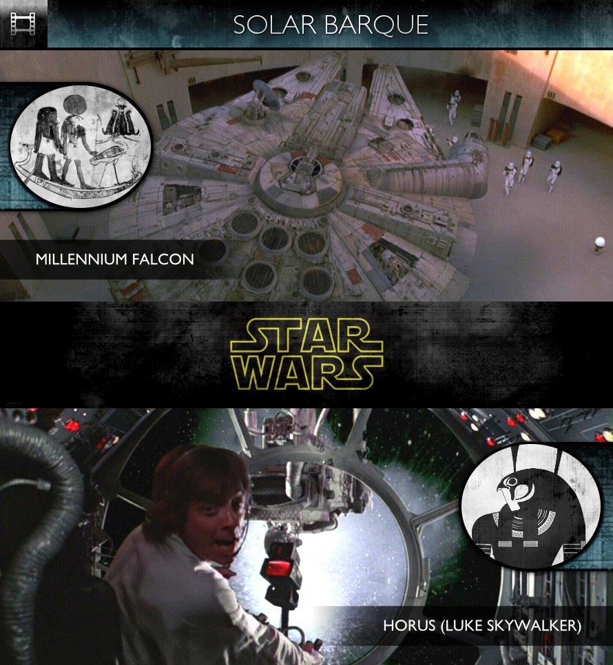 Star Wars - Episode IV: A New Hope (1977) - Solar Barque - Millennium Falcon