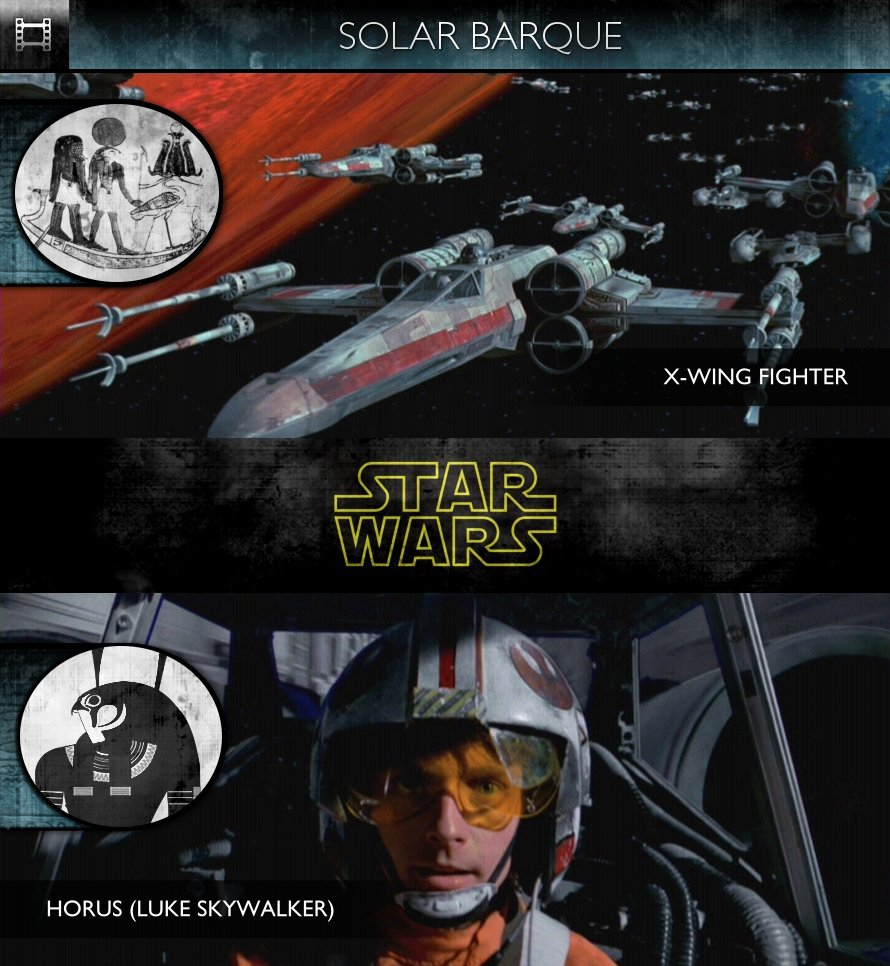 Star Wars - Episode IV: A New Hope (1977) - Solar Barque - X-Wing Fighter
