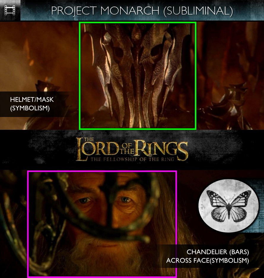 The Lord Of The Rings: The Fellowship Of The Ring (2001) - Project Monarch - Subliminal