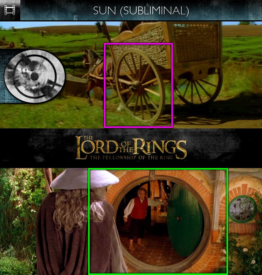 The Lord Of The Rings: The Fellowship Of The Ring (2001) - Sun/Solar - Subliminal