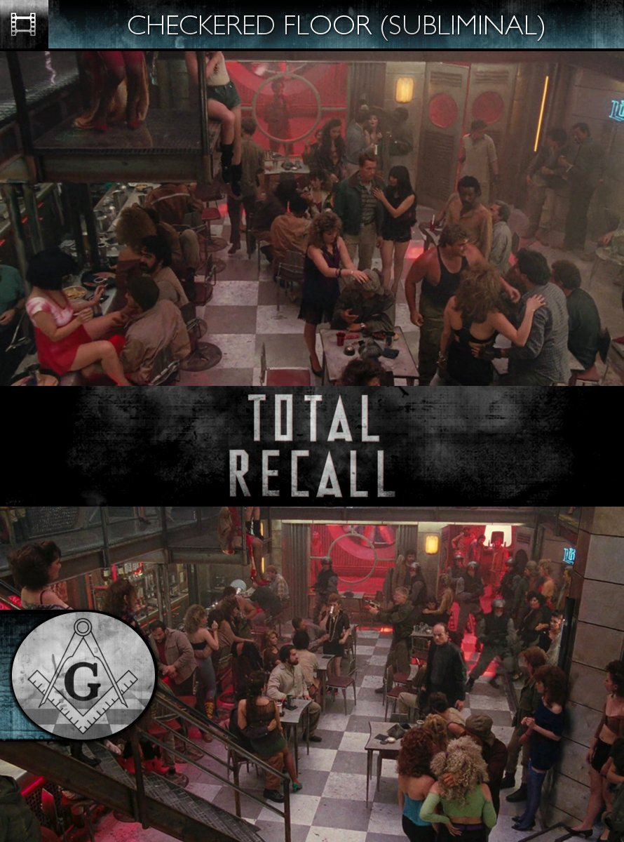 Total Recall (1990) - Checkered Floor - Subliminal
