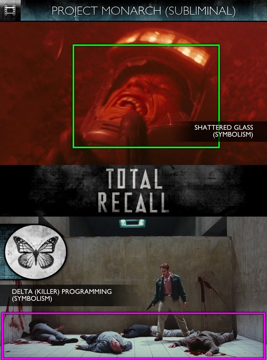 Total Recall (1990) - Project Monarch - Subliminal