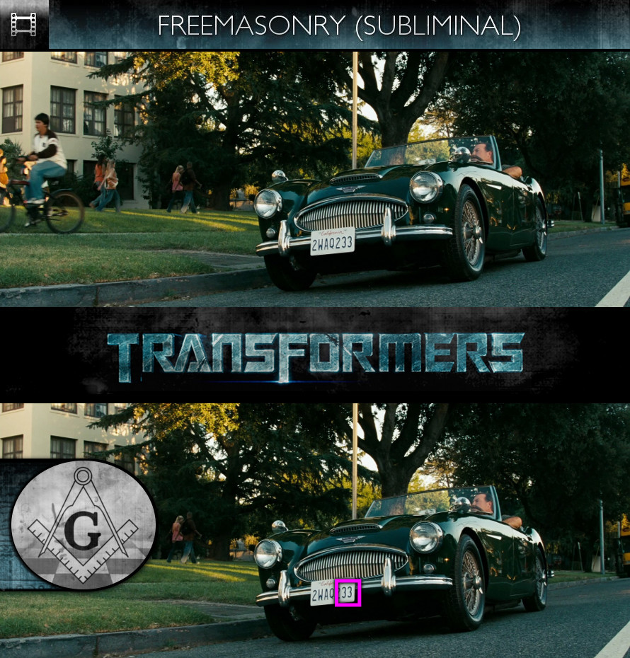 Transformers (2007) - Freemasonry - Subliminal