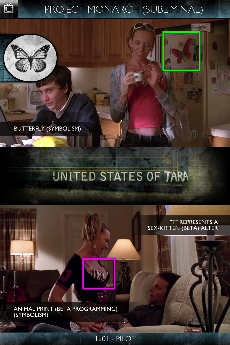 United States of Tara (2009) 1x01-Pilot - Project Monarch - Subliminal
