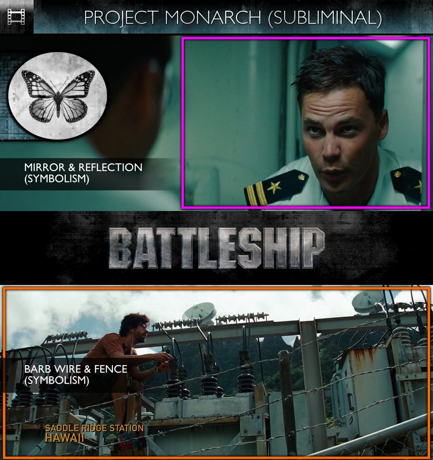Battleship (2012) - Project Monarch - Subliminal