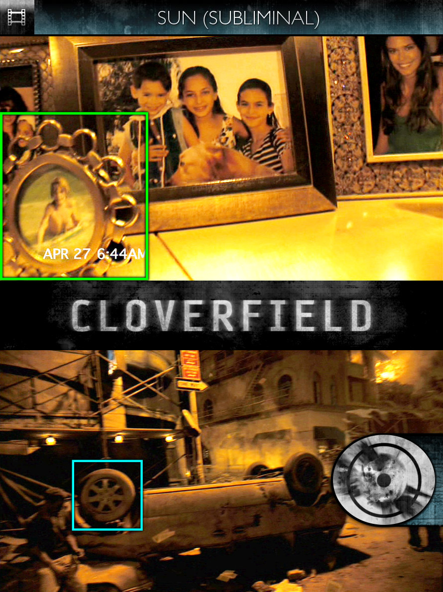 Cloverfield (2008) - Sun/Solar - Subliminal