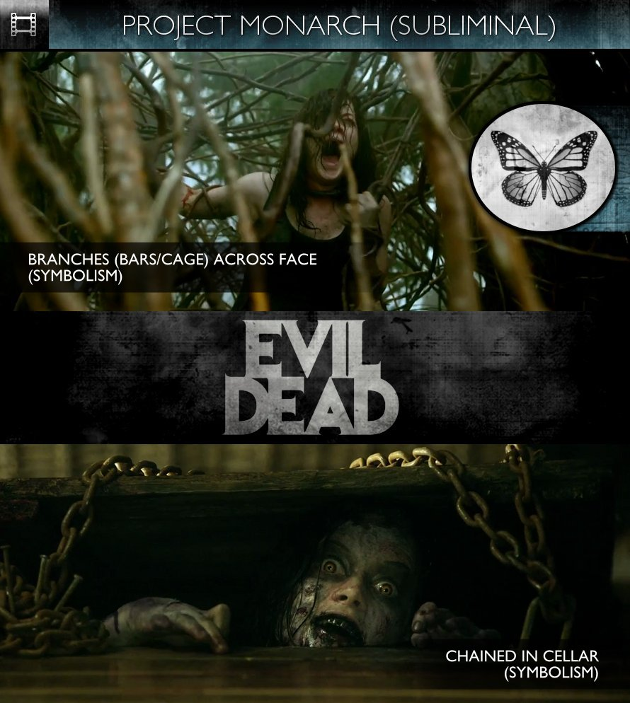 Evil Dead (2013) - Trailer - Project Monarch - Subliminal