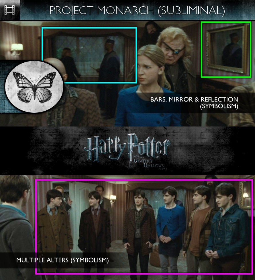 Harry Potter and the Deathly Hallows, Part 1 (2010) - Project Monarch - Subliminal