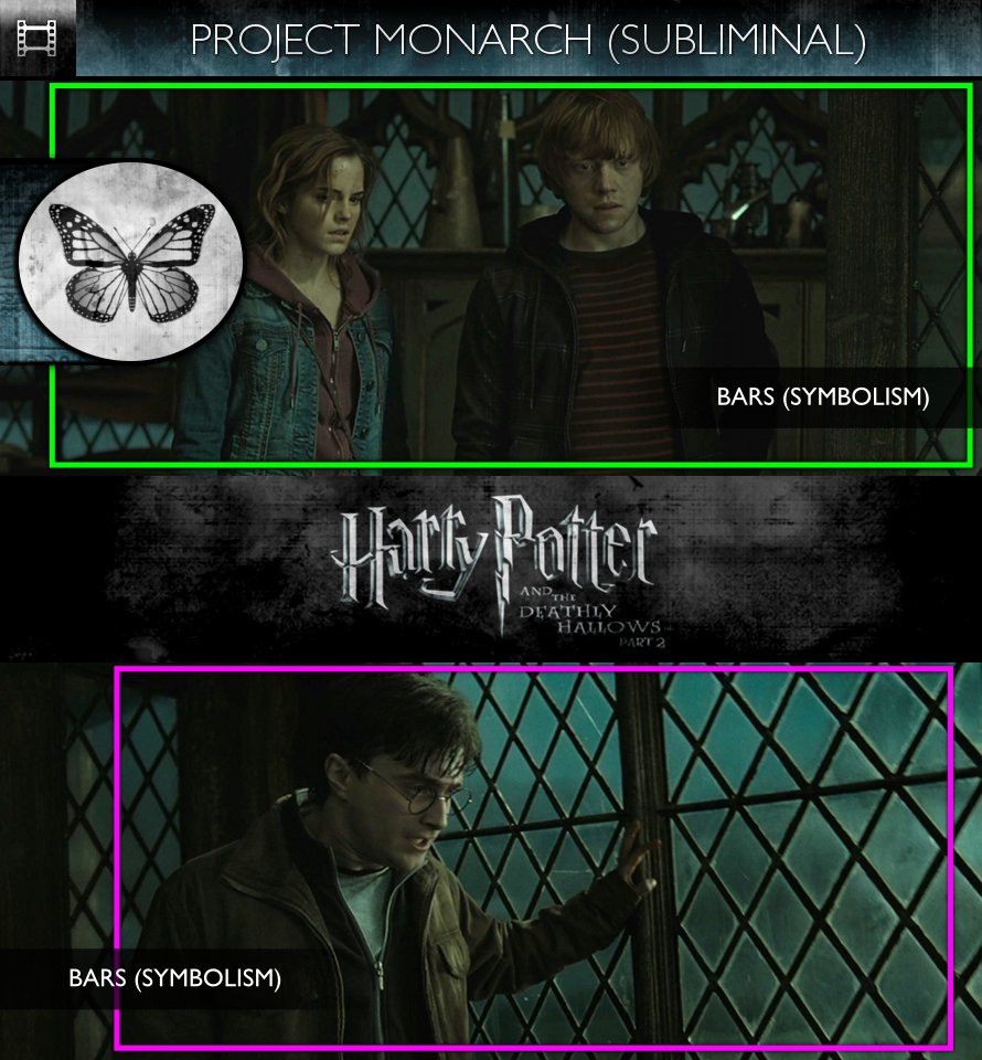 Harry Potter and the Deathly Hallows, Part 2 (2011) - Project Monarch - Subliminal