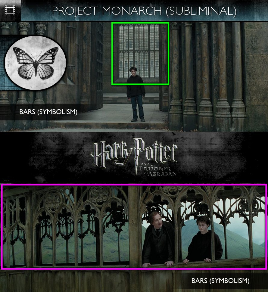 Harry Potter and the Prisoner of Azkaban (2004) - Project Monarch - Subliminal