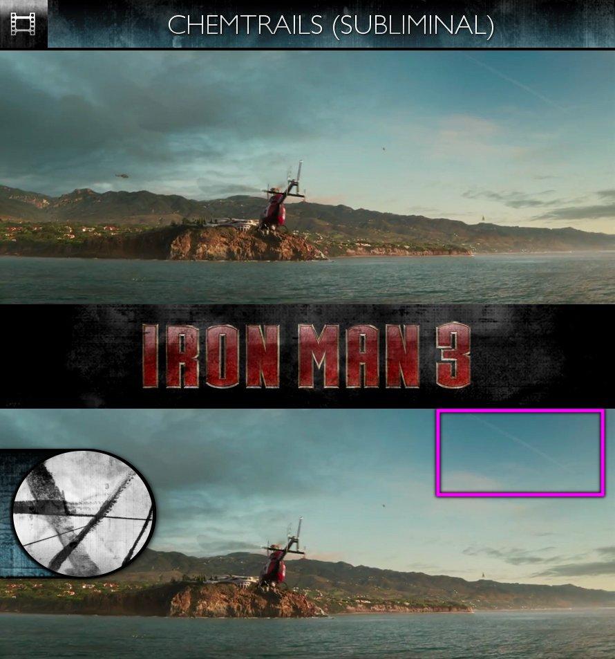 Iron Man 3 (2013) - Trailer - Chemtrails - Subliminal