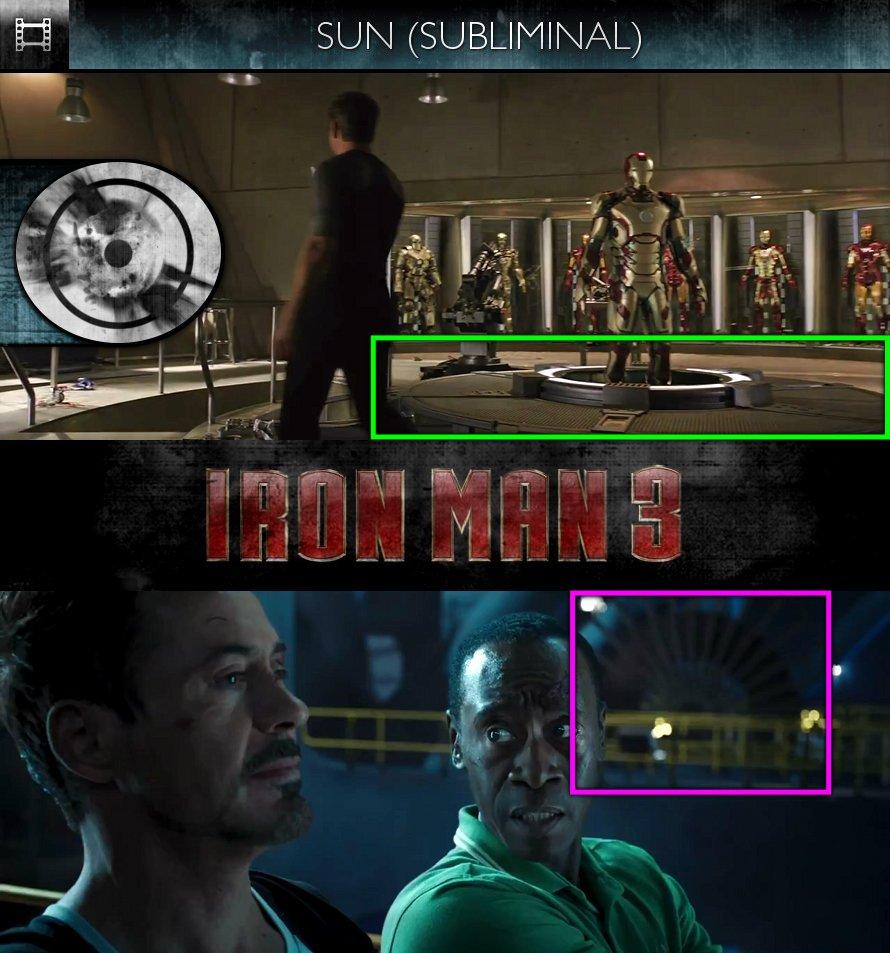 Iron Man 3 (2013) - Trailer - Sun/Solar - Subliminal