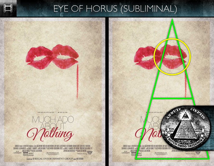 Much Ado About Nothing (2013) - Poster - Eye of Horus - Subliminal