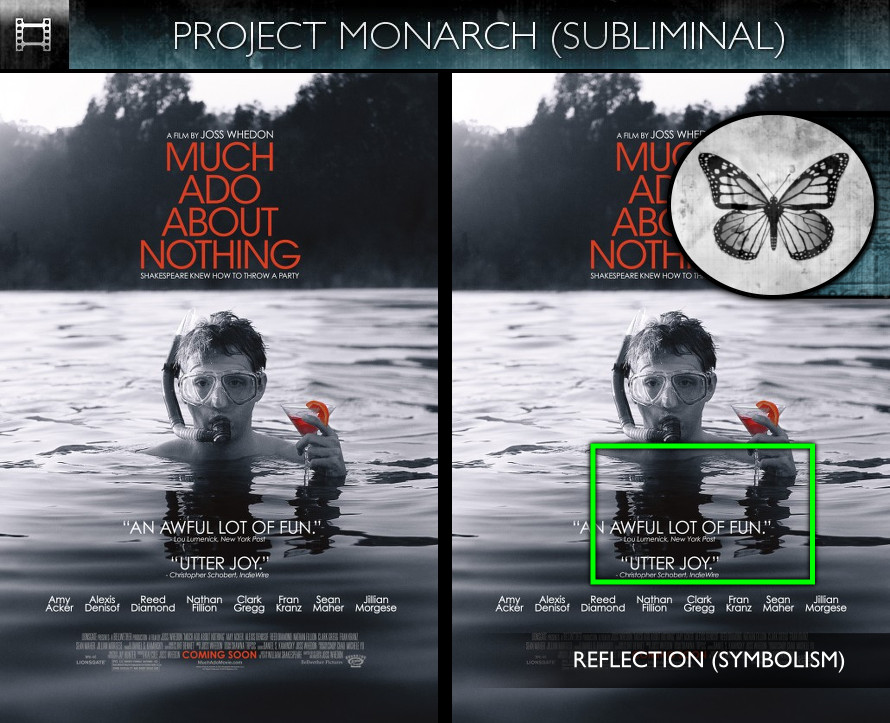 Much Ado About Nothing (2013) - Poster - Project Monarch - Subliminal