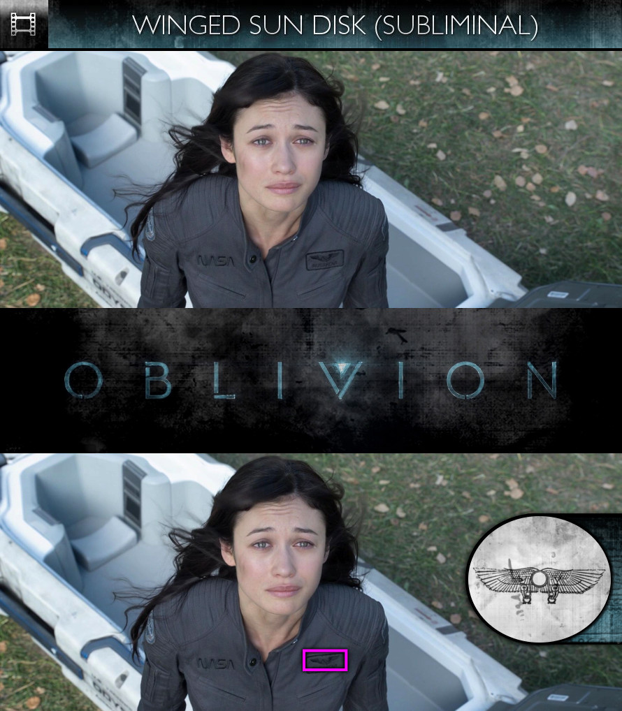 Oblivion (2013) - Winged Sun-Disk - Subliminal