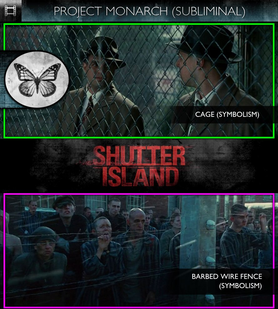 Shutter Island (2010) - Project Monarch - Subliminal
