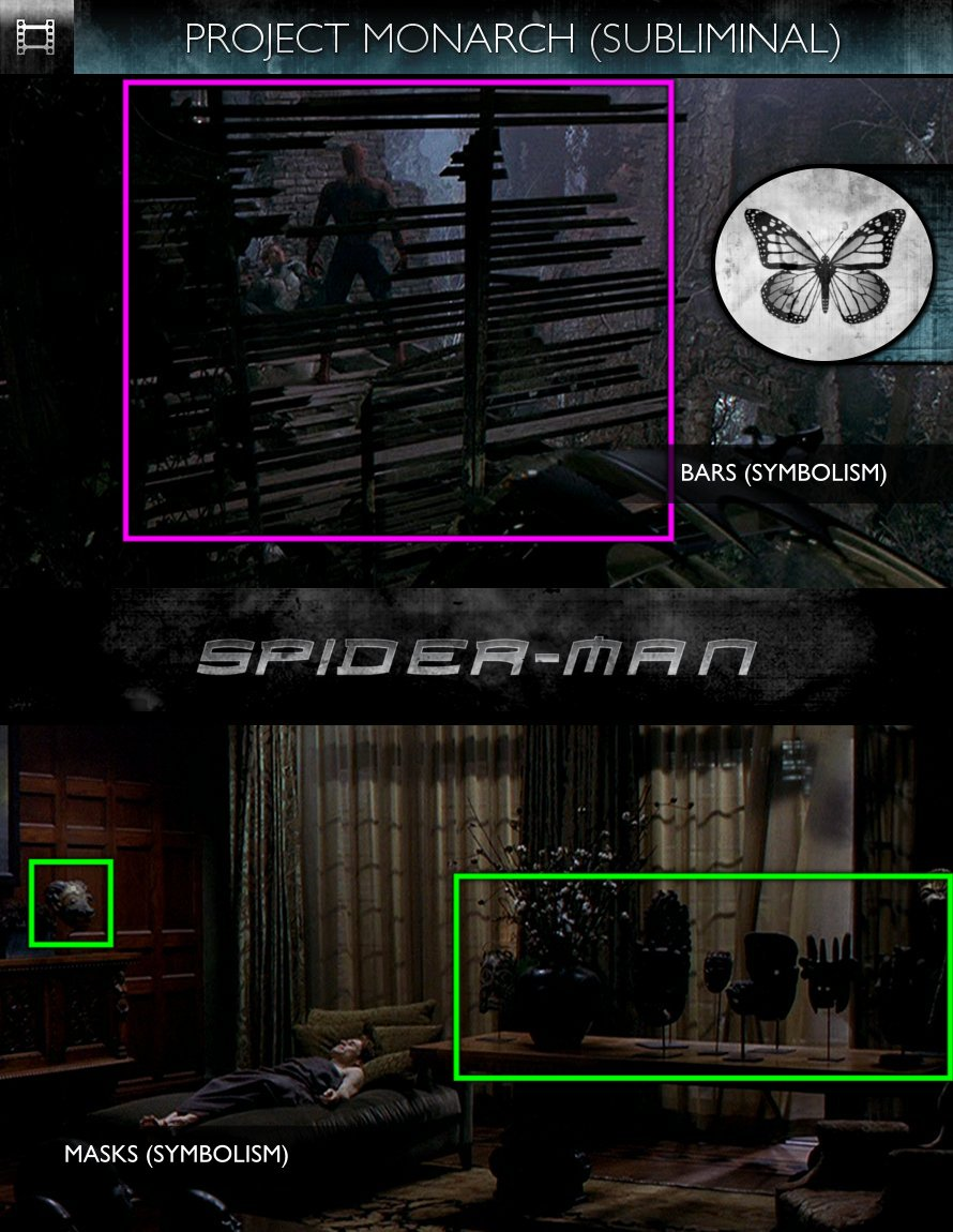 Spider-Man (2002) - Project Monarch - Subliminal