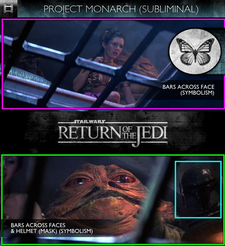Star Wars - Episode VI: Return Of The Jedi (1983) - Project Monarch - Subliminal