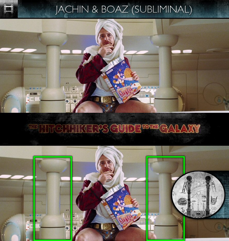 The Hitchhiker's Guide To The Galaxy (2005) - Jachin & Boaz - Subliminal