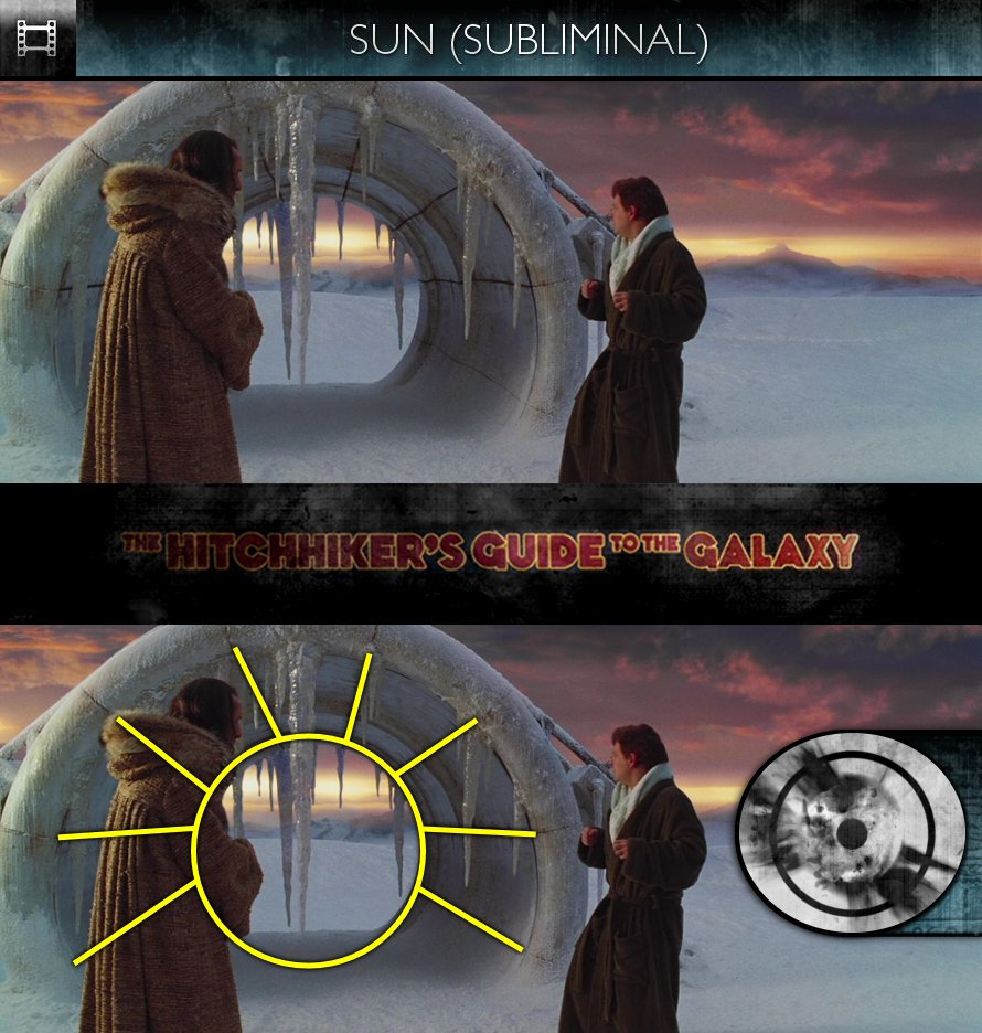 The Hitchhiker's Guide To The Galaxy (2005) - Sun/Solar - Subliminal