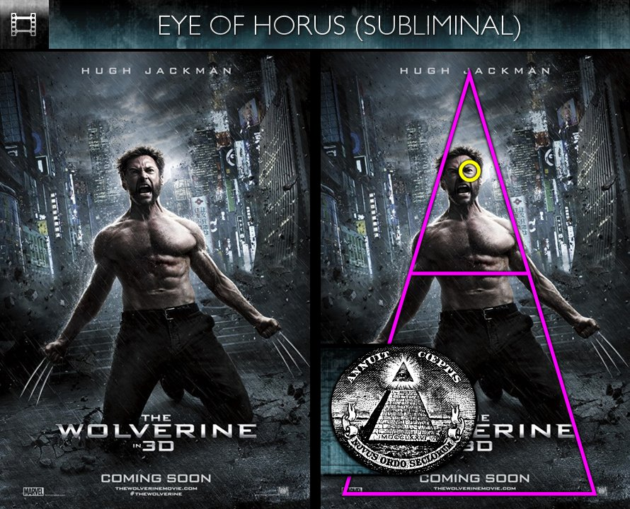 The Wolverine (2013) - Poster - Eye of Horus - Subliminal