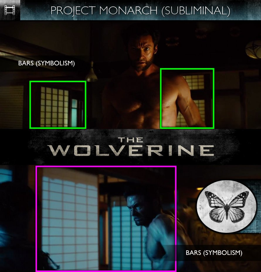 The Wolverine (2013) - Trailer - Project Monarch - Subliminal