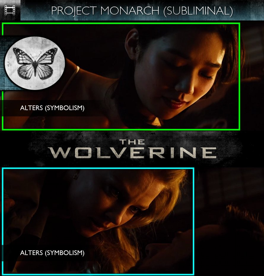 The Wolverine (2013) - Trailer - Project Monarch - Subliminal