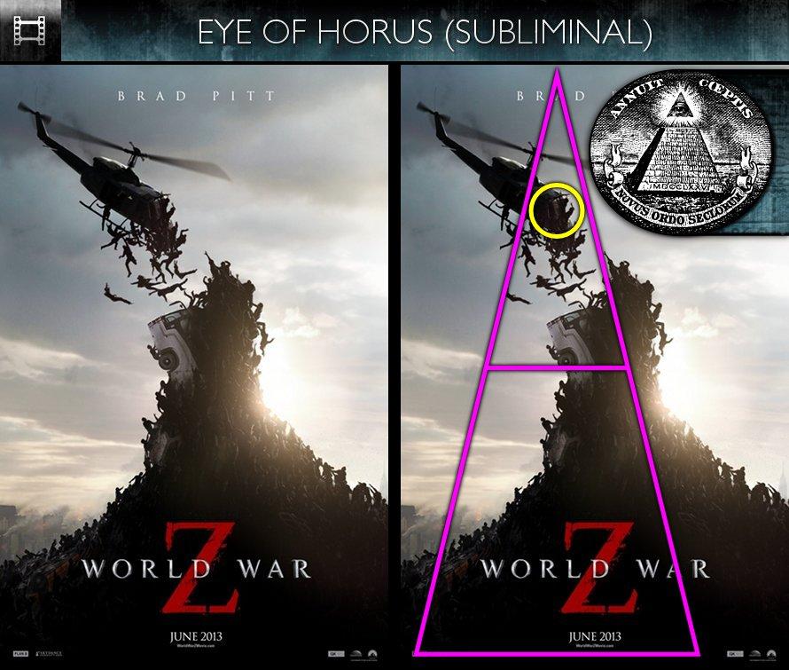 World War Z (2013) - Poster - Eye of Horus - Subliminal