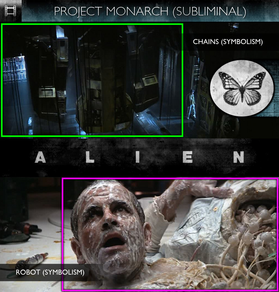 Alien (1979) - Project Monarch - Subliminal
