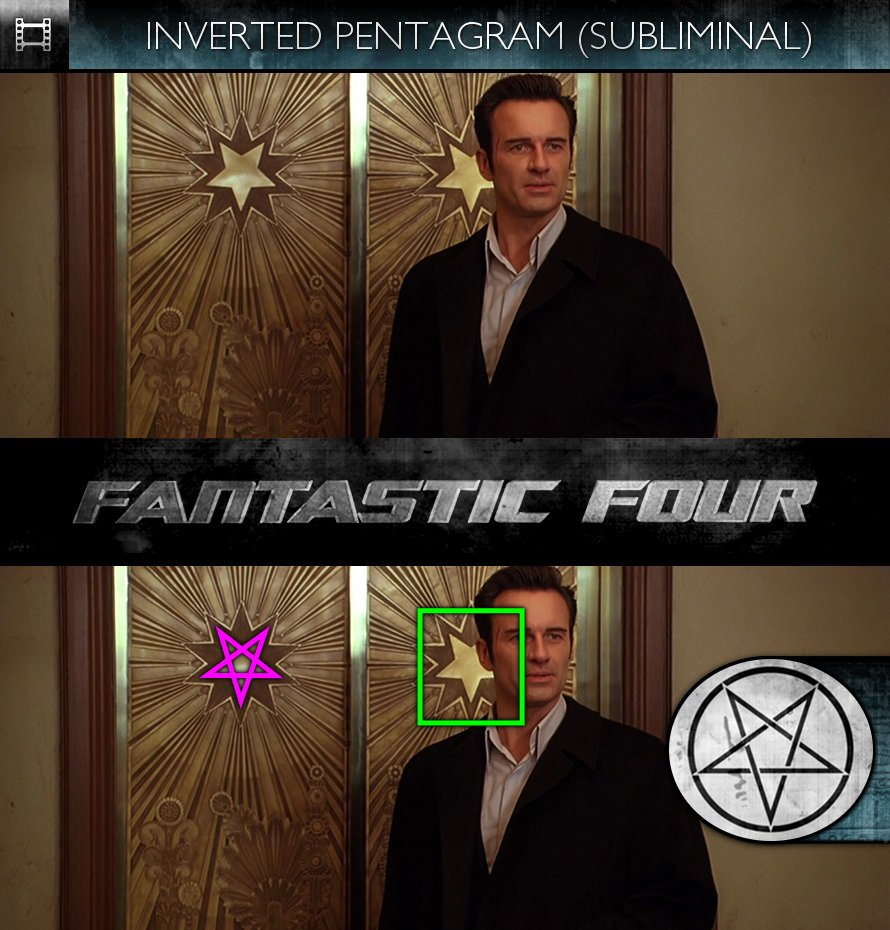 Fantastic Four (2005) - Inverted Pentagram - Subliminal