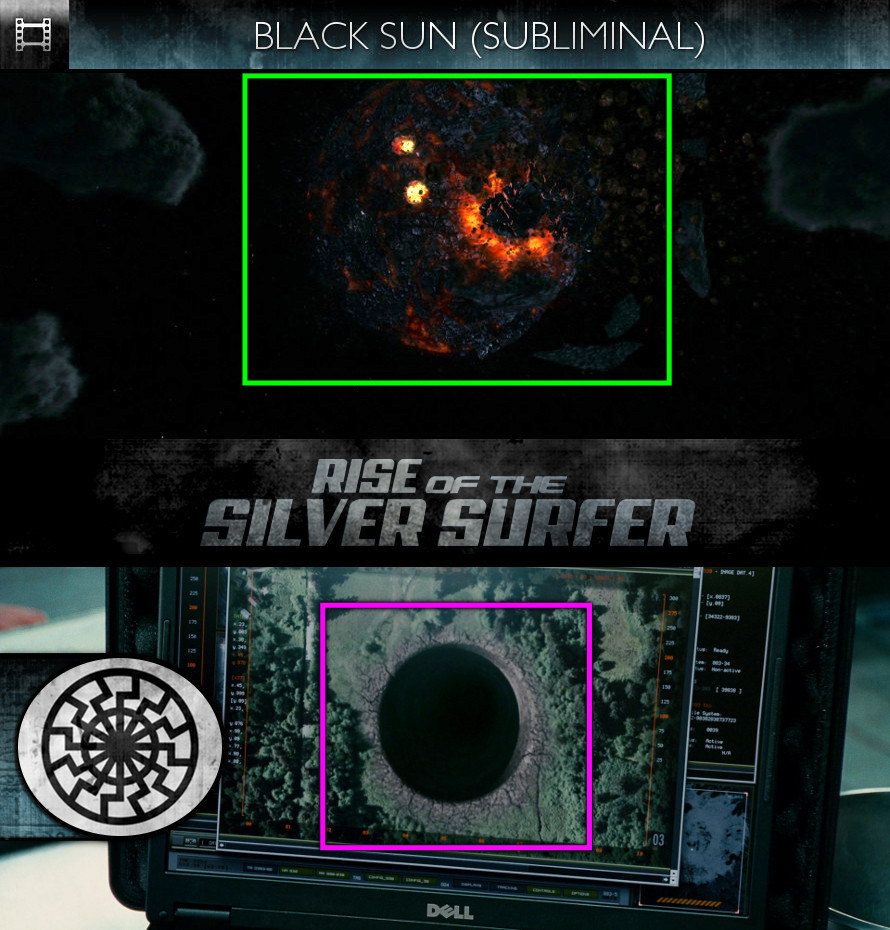 Fantastic Four: Rise of the Silver Surfer (2007) - Black Sun - Subliminal