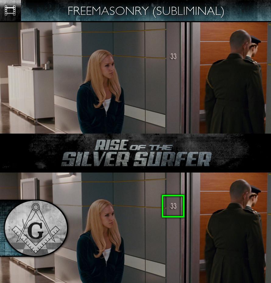 Fantastic Four: Rise of the Silver Surfer (2007) - Freemasonry - Subliminal