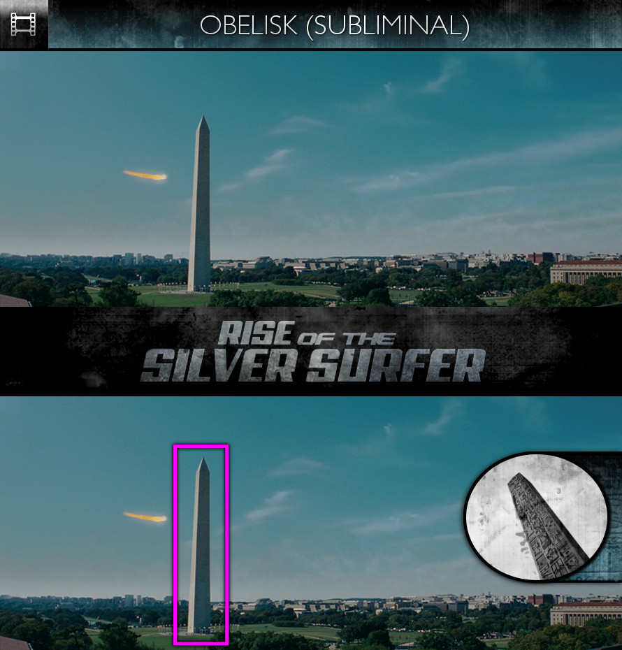 Fantastic Four: Rise of the Silver Surfer (2007) - Obelisk - Subliminal