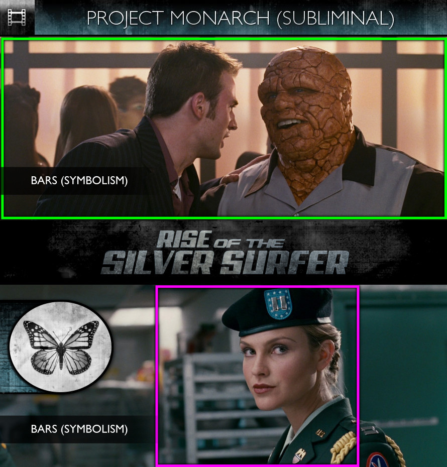 Fantastic Four: Rise of the Silver Surfer (2007) - Project Monarch - Subliminal