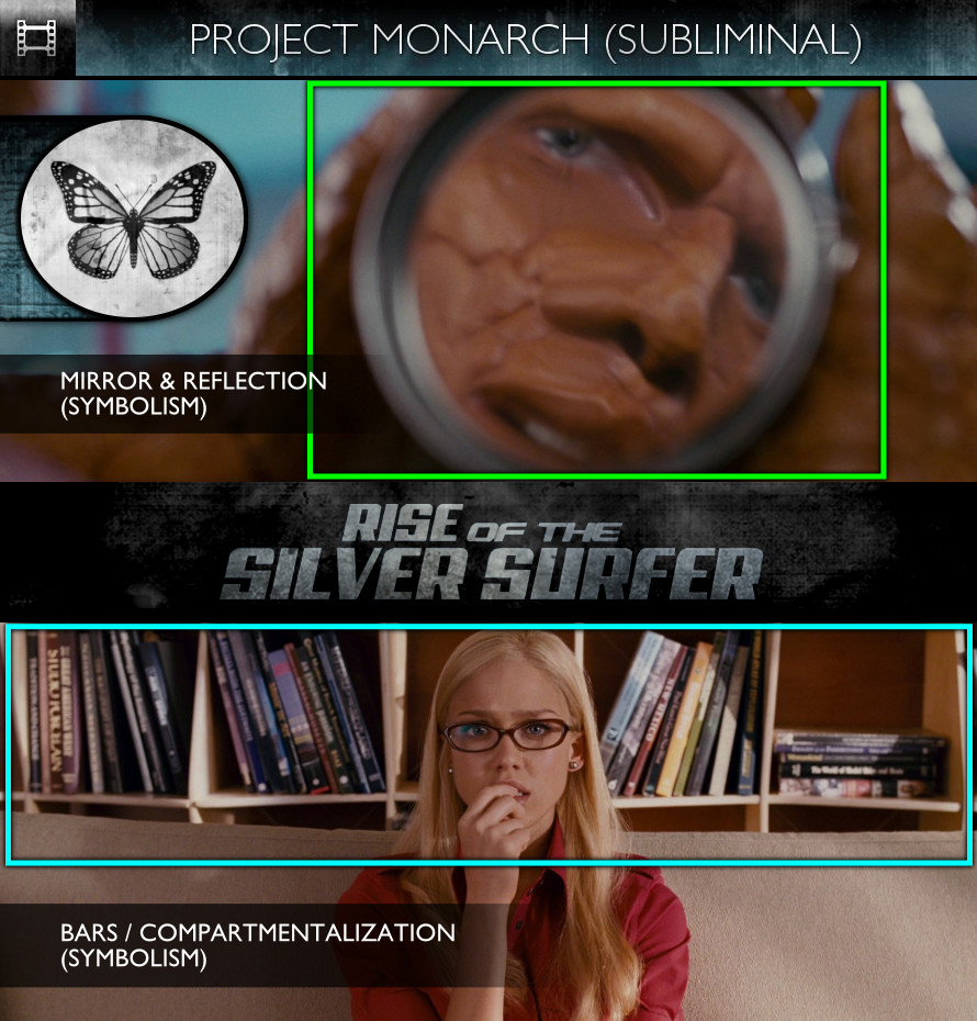 Fantastic Four: Rise of the Silver Surfer (2007) - Project Monarch - Subliminal