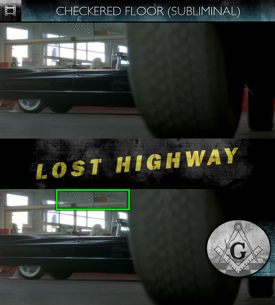 Lost Highway (1997) - Checkered Floor - Subliminal