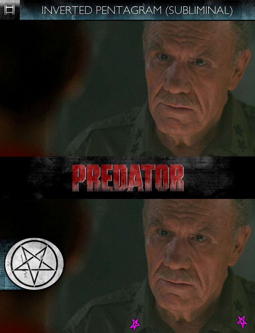 Predator (1987) - Inverted Pentagram - Subliminal
