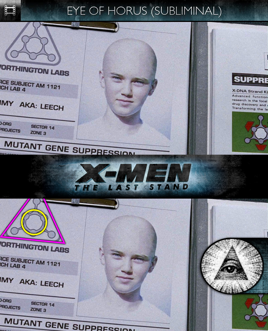 X-Men: The Last Stand (2006) - Eye of Horus - Subliminal