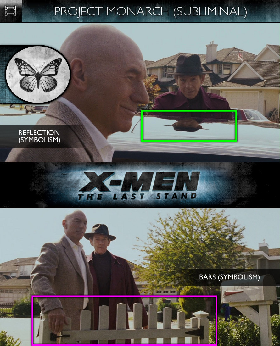 X-Men: The Last Stand (2006) - Project Monarch - Subliminal