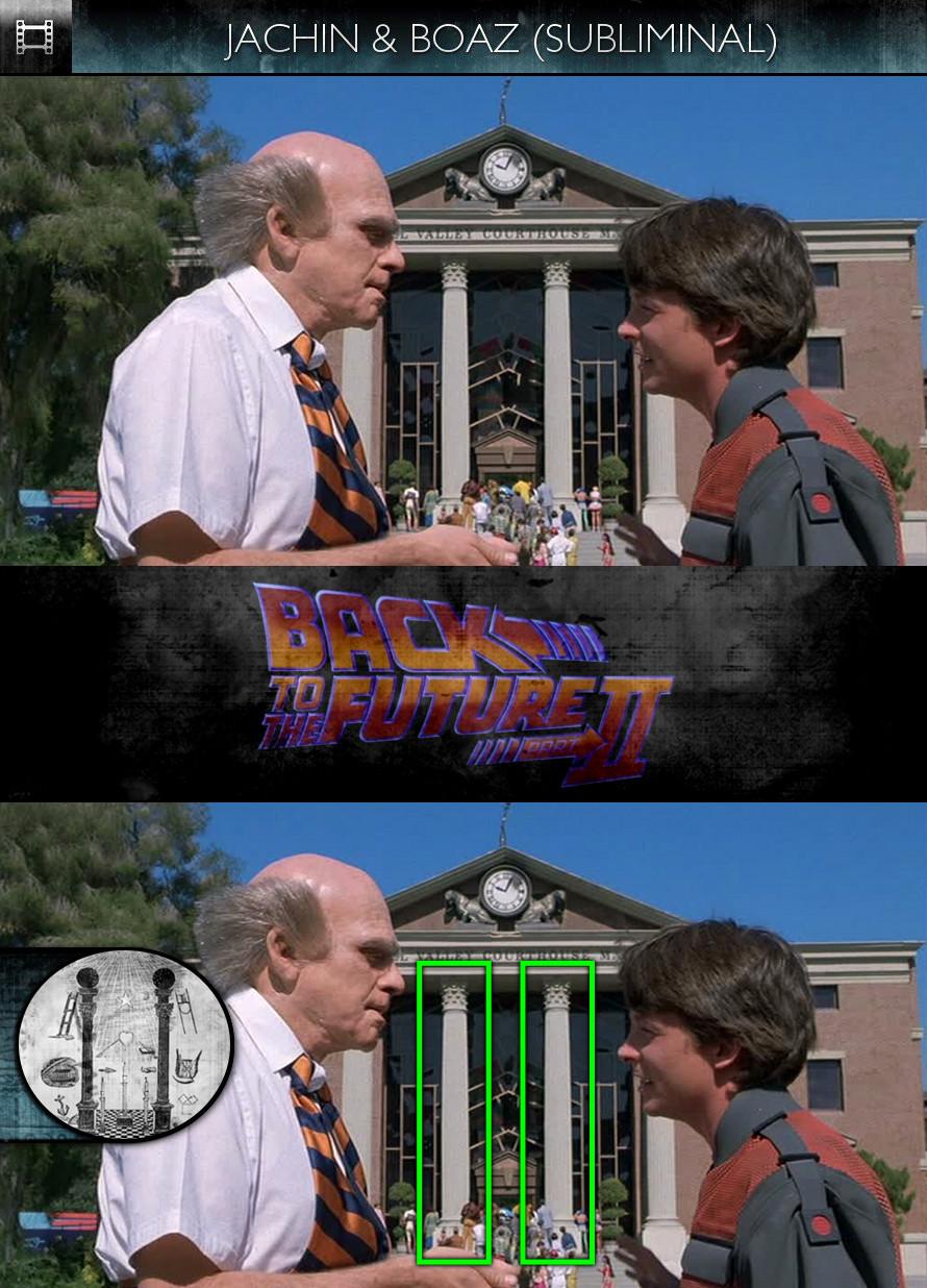 Back to the Future, Part 2 (1989) - Jachin & Boaz - Subliminal