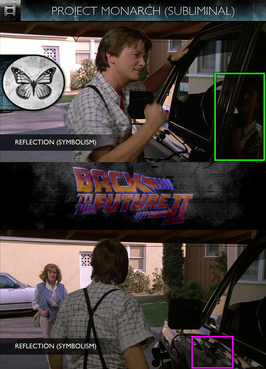Back to the Future, Part 2 (1989) - Project Monarch - Subliminal