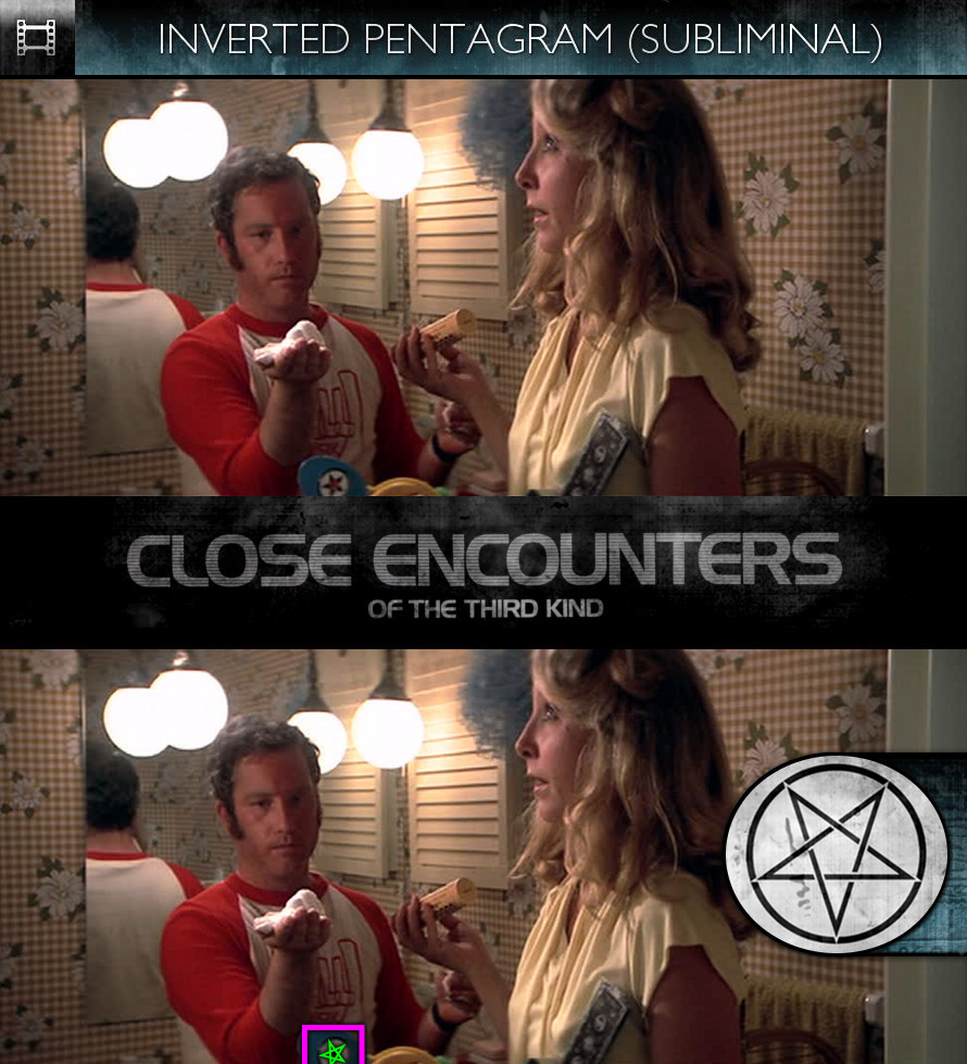 Close Encounters of the Third Kind (1977) - Inverted Pentagram - Subliminal