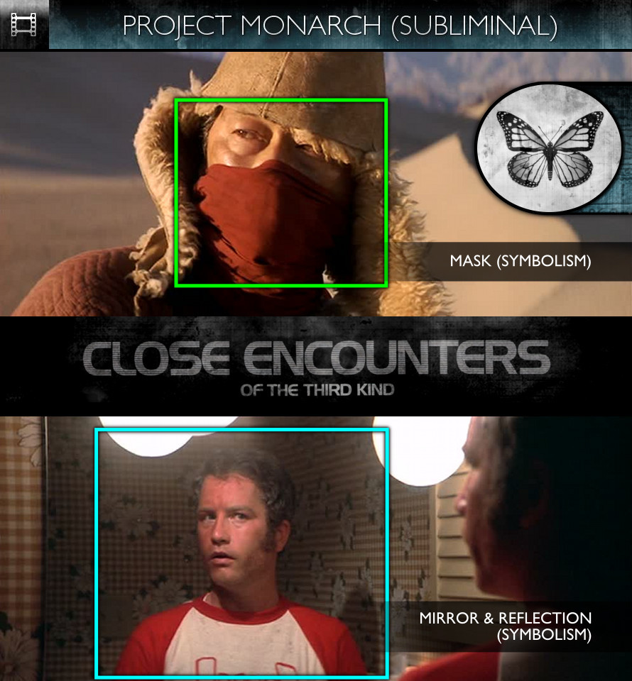 Close Encounters of the Third Kind (1977) - Project Monarch - Subliminal