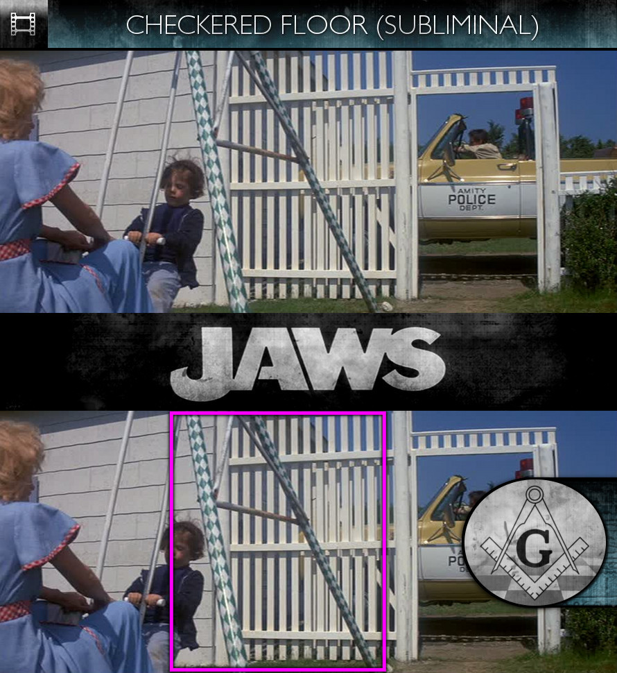 Jaws (1975) - Checkered Floor - Subliminal